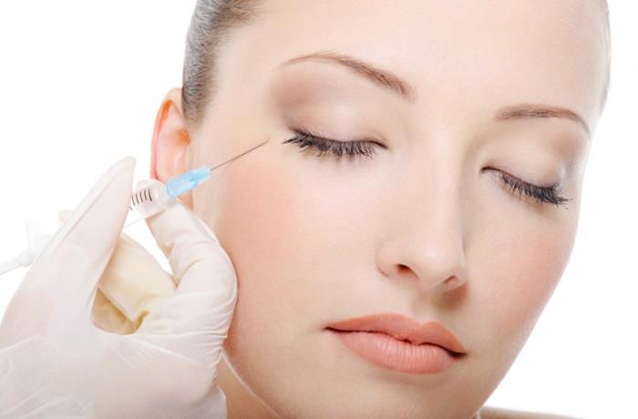Botulinum wrinkle removal