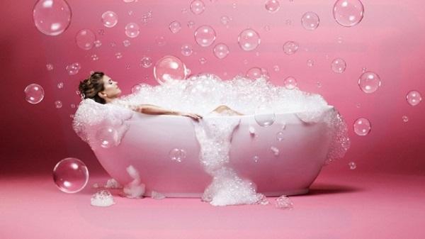 visszértágulatokkal történő fürdés